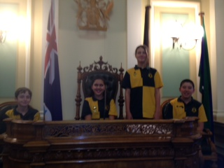 School Leaders Visit Parliament House